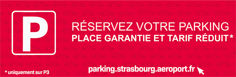 parkings de l'aéroport de Strasbourg